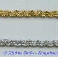 Lurexgimpe in gold 10mm