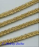 Lurexborte 9mm in gold