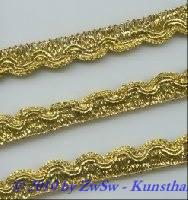 Lurexspitze 13mm in gold