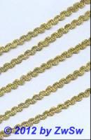 Häkelgimpe in gold,  1 Meter