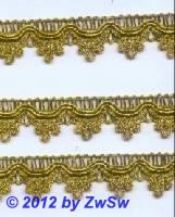 Brokatspitze gold 19mm,  1 Meter