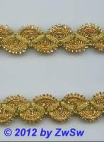 Brokatborte gold  22mm,  1 Meter