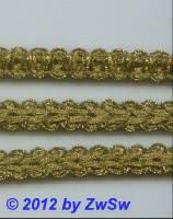 Häkelgimpe altgold/hell 12mm,  1 Meter