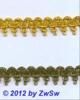 Brokatspitze 20mm gold,  1 Meter