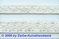 Silberborte 15 mm, 1 Meter