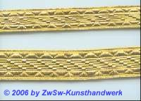 Goldborte gold 15 mm, 1 Meter