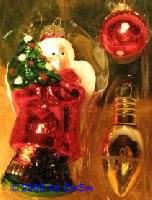 Christbaumkugeln Engel mit Christbaum