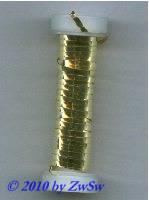Lahn 0,5er vergoldet, ca.5 Gramm