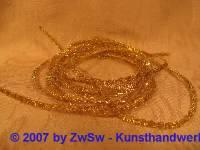 1 Meter Muschelbouillion, vergoldet