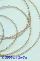 Miniadice 1 m vergoldet