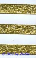 Rebenborte gelbgold, 1 Bogen
