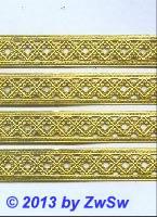 Arabeske 3 Streifen gold