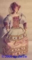 Eine Edelfrau aus dem Königsgefolge