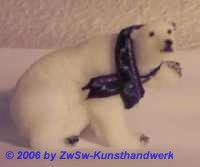 Eisbär winkend, 4,5cm