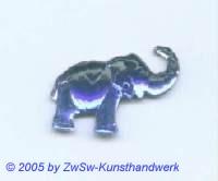 Strasssteine Elefanten (dunkelblau)