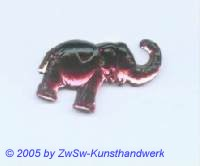Strasssteine Elefanten (altrosa)