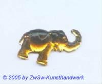 Strassstein Elefanten (helltopas)
