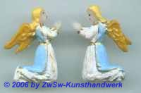 Engelpaar kniend, 3cm x 2,3cm