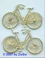 2 Fahrrad (gold)