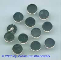 12 Knöpfe rund ohne Besatz, Ø 11mm