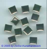 12 Knöpfe quadratisch ohne Besatz 11mm x 11mm