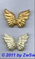 Engelsflügel in gold