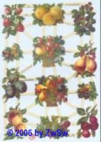 Glanzbild Früchte