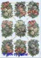 Glanzbild Blumen
