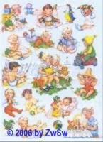 Glanzbild Kinder