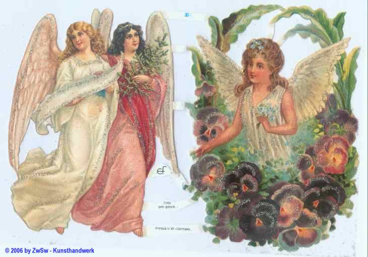 Glanzbild Engel