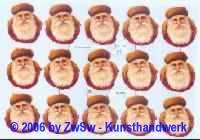 Glanzbild Knecht Ruprecht