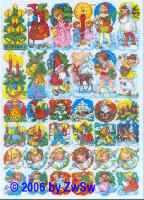 Glanzbild Kinderweihnachten