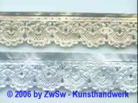 Schachtelborte silber 2,5 cm, 5 Meter