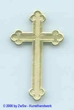 gr. Kreuz 5 x 3 cm 1 Stück