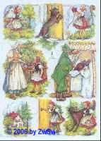 Glanzbild Rotkäppchen II