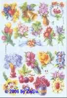 Glanzbild Frühlingsblumen