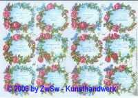 Glanzbild Spruchblase