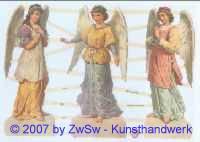 Glanzbild Engel ohne Glimmer