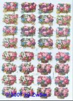 Blumenkörbe ohne Glimmer
