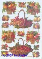 Glanzbilder Früchte ohne Glimmer