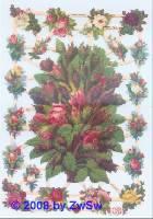 Glanzbilder Blumenbouquets ohne Glimmer