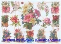 Glanzbilder Frühlingsblumen ohne Glimmer