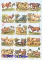 Glanzbilder Bauernhoftiere ohne Glimmer