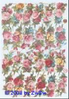Glanzbilder Rosen ohne Glimmer