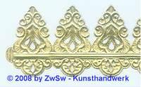 1 Goldborte 17 cm
