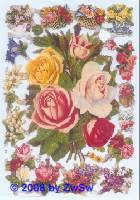 Glanzbild Rosen