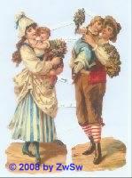 Großoblate Mutter und Vater  ohne Glimmer