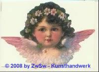 Schmuckkarte gr. Flügelengel