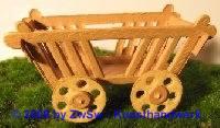 Leiterwagen 8 cm, 2 Stück
