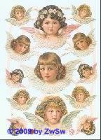 Glanzbilder Engel ohne Glimmer